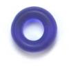 Glass Bead Donut 9mm Navy